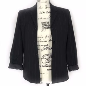 Casual Corner Annex Pin Stripe Stretch Blazer
